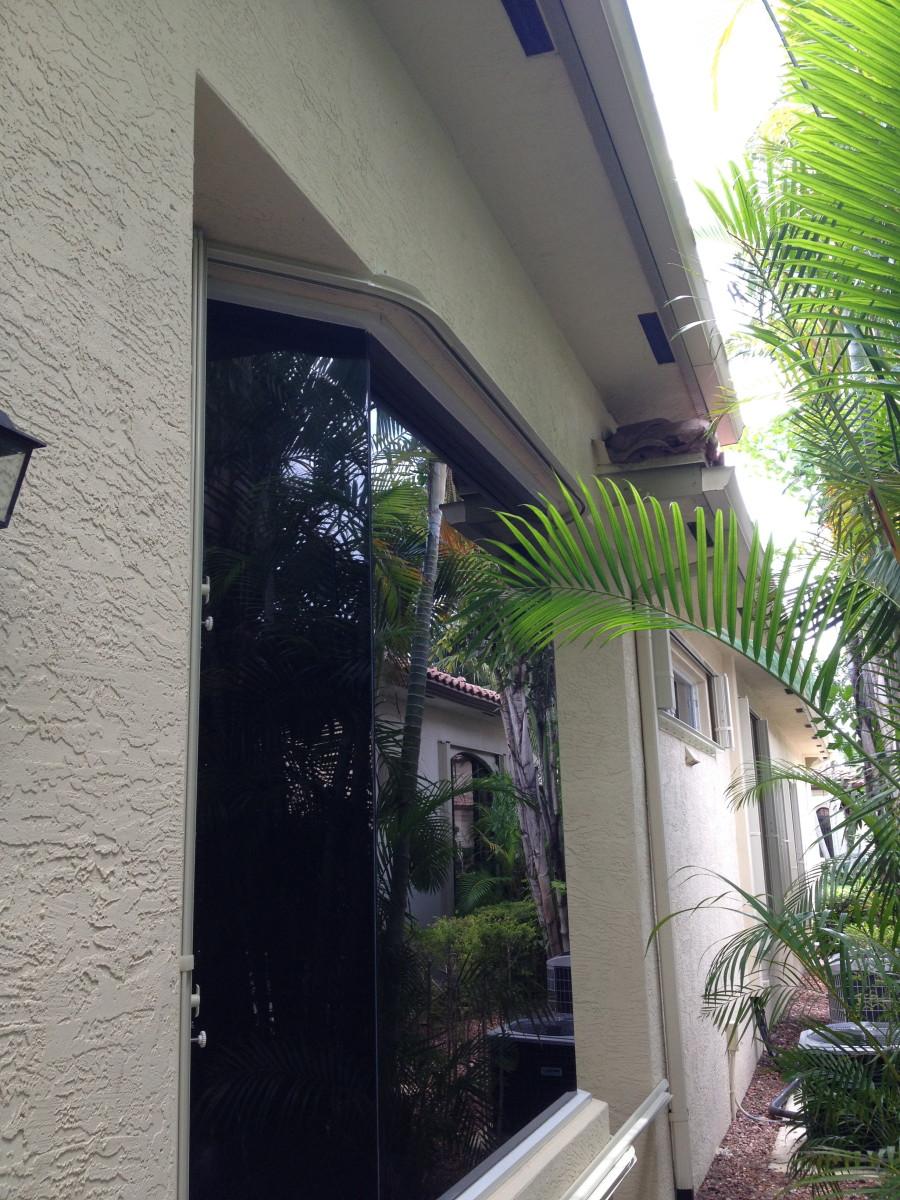 Accordion Hurricane Shutters West Palm Beach Lake Worth
